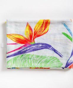 folded muslin