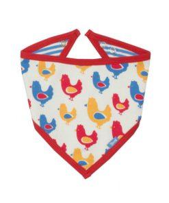 chicken bandana bib