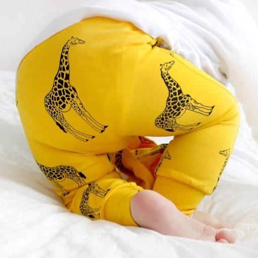 giraffe print leggings