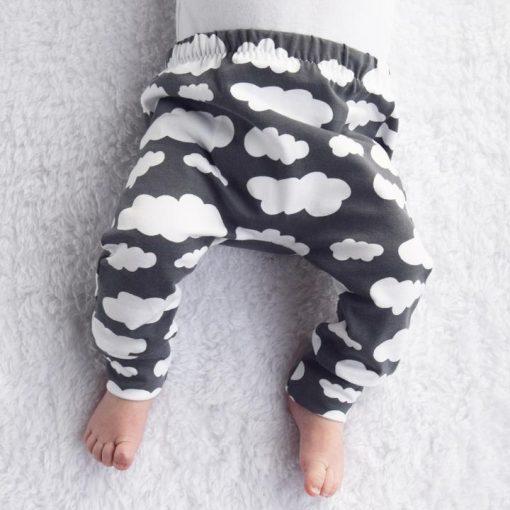 cloud print leggings