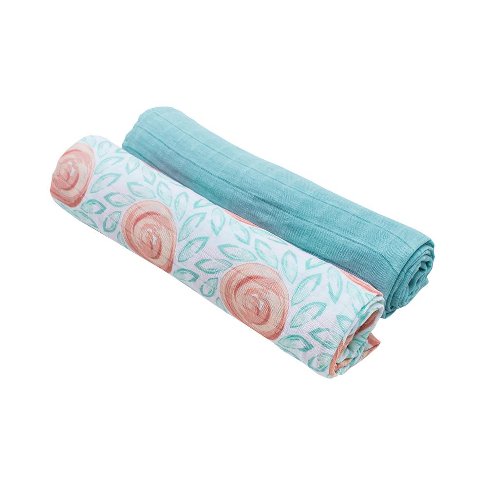 Wondrous Bebe Au Lait Fresco Lagoon Luxury Muslin Swaddle Blankets Pdpeps Interior Chair Design Pdpepsorg