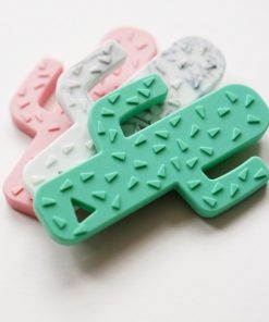 mint cactus teether