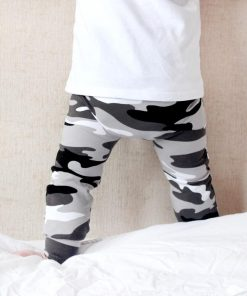 Grey Camo print Leggings