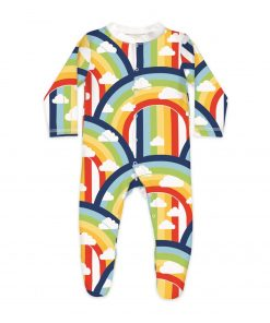 rainbow sleepsuit