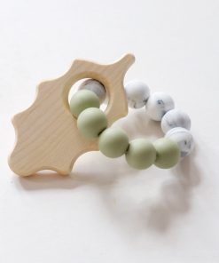 oak leaf teether