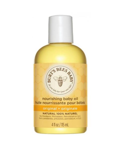 baby bees nourishing baby oil