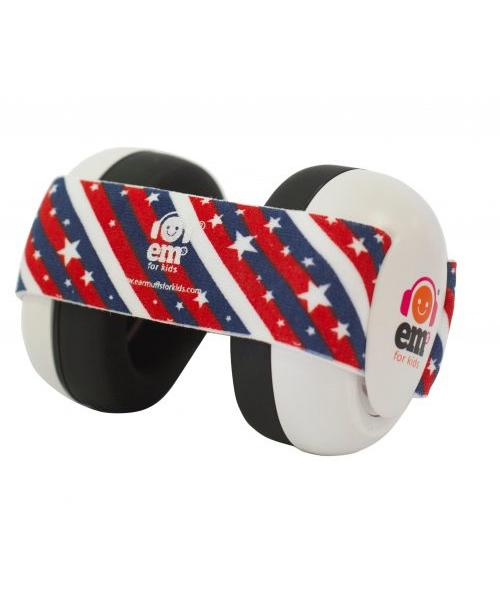 stars & stripes ear defenders