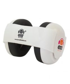white ear defenders