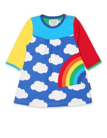 rainbow cloud dress
